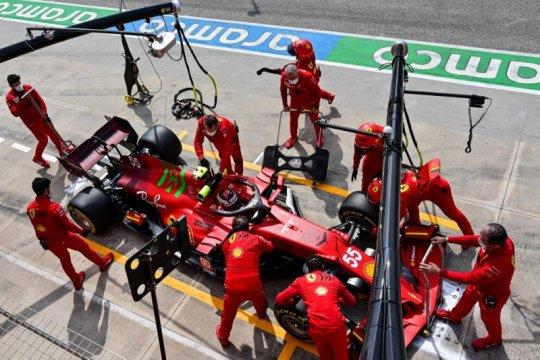 Sainz akui belum temukan limit Ferrari