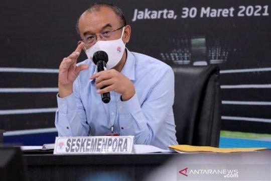 Kemenpora targetkan vaksinasi atlet PON Papua selesai Juli