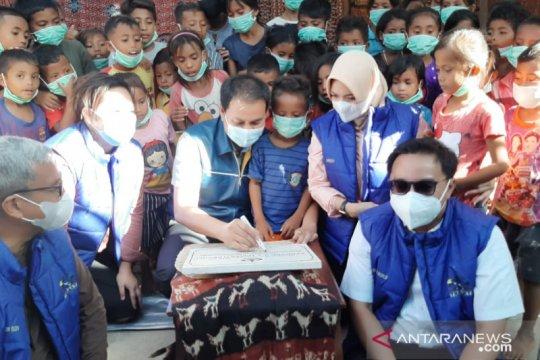 Azis Syamsuddin harap rumah baca jadi sumber ilmu pengetahuan