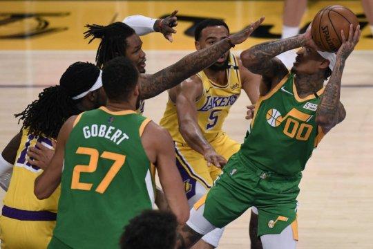 Jazz tuntaskan dendam dengan balas bungkam Lakers 111-97