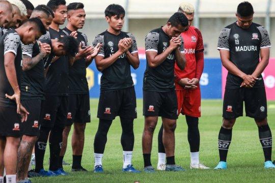 Pemain Madura United berharap Liga 1 bergulir
