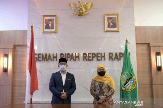 Ridwan Kamil sebut pertemuan dengan Khofifah tak terkait politik