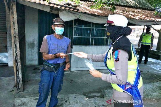 Polres Bangka Barat gencarkan penyuluhan cegah warga pulang kampung