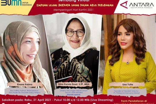 ANTARA hadirkan tiga perempuan ulung dalam Webinar Kartini