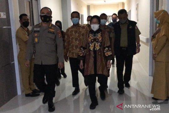 Kunjungi korban Bom Makassar, Mensos Risma upayakan pemulihan trauma