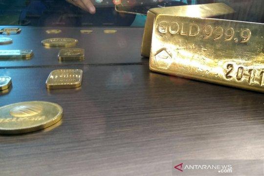 Emas terpuruk 9,6 dolar tertekan kebangkitan imbal hasil obligasi AS