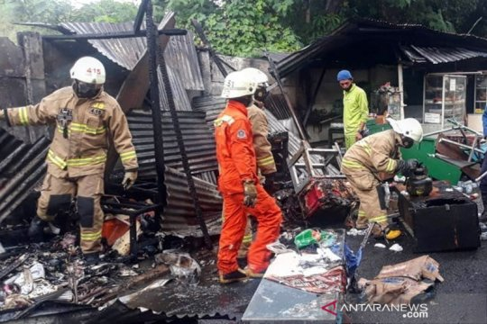 Delapan warung makan dekat Rumah Sakit Fatmawati terbakar