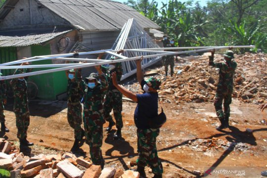 Pendataan akibat gempa bumi di Kabupaten Malang rampung