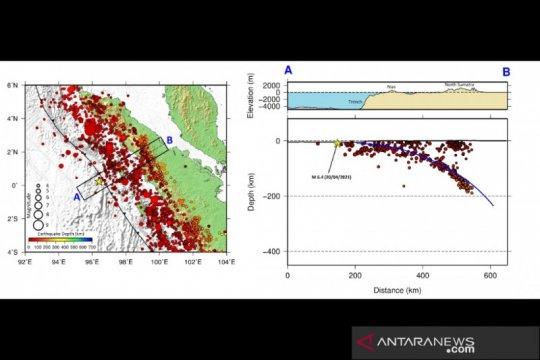 """Sumber gempa Nias di """"outer rise"""", tidak kalah bahaya dari megathurst"""