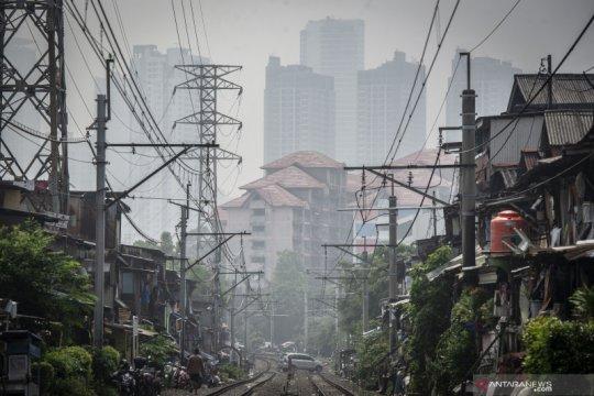 Tingkat polusi udara di Ibu Kota