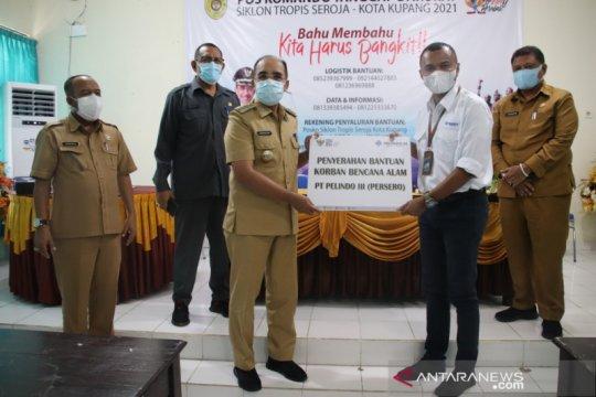 Pelindo III Kupang bantu korban bencana siklon tropis seroja