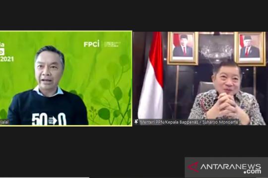 Bappenas siapkan beberapa skenario Indonesia capai nol emisi karbon