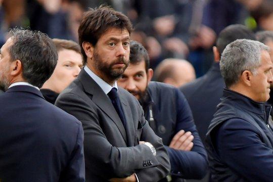 Presiden Juventus pesimistis Liga Super Eropa bisa lanjut