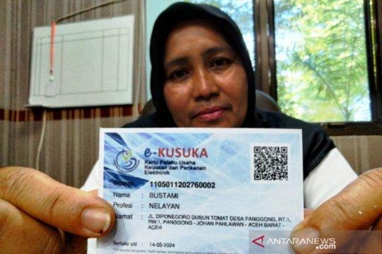 """1.700 nelayan di Aceh Barat sudah terdaftar kartu """"Kusuka"""" dari KKP"""