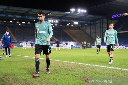 Takluk di markas Arminia, Schalke terdegradasi ke kasta kedua