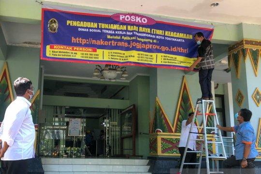 Yogyakarta buka posko pengaduan THR hingga 12 Mei