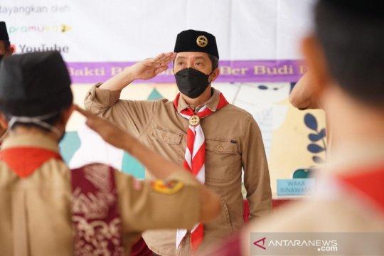 Kakwarcab Bogor: Ajak pemuda bangun kreatifitas melalui Pramuka