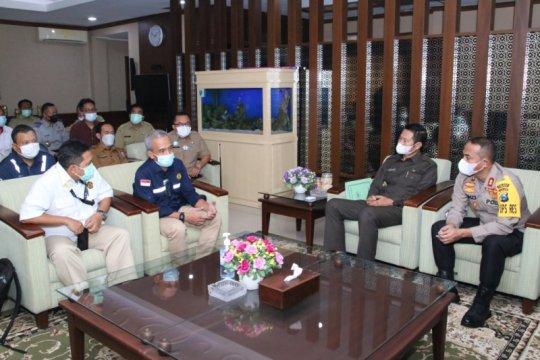 Pembangunan jaringan gas rumah tangga di Lamongan kembali dilanjutkan