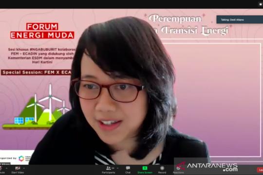 Perempuan dinilai berperan besar dalam transisi energi