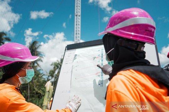 Kiprah dua Kartini PLN dibalik pembangunan menara darurat pulau Timor