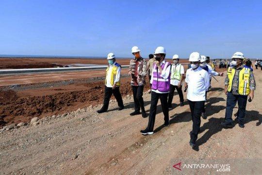 Presiden Jokowi pastikan mulai bangun di KITB pada Mei 2021