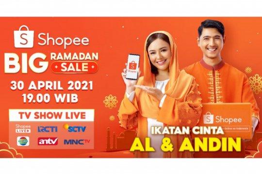 Al & Andin akan beri kejutan di Shopee Big Ramadan Sale TV Show