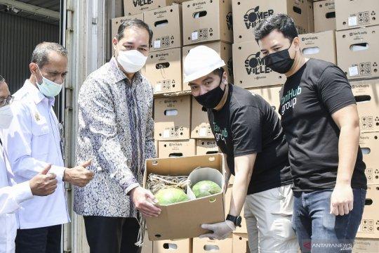 Mendag tinjau gudang E-Commerce Agrikultur