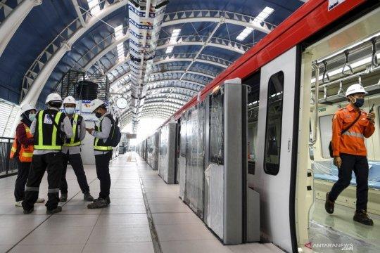 Adhi Karya targetkan LRT Jabodebek mulai beroperasi pertengahan 2022