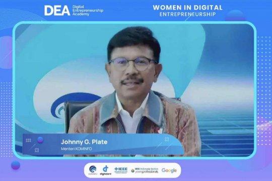 Menkominfo: Pemerintah percepat kesetaraan di sektor digital