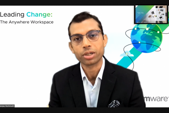VMware Anywhere Workspace dukung kerja jarak jauh
