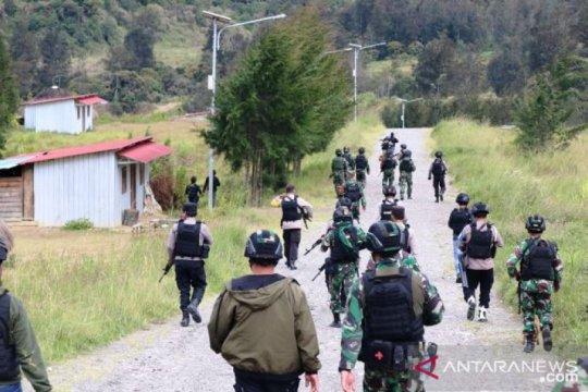 Bupati Wandik:TNI/Polri hadir ke Puncak untuk menjaga keamanan warga