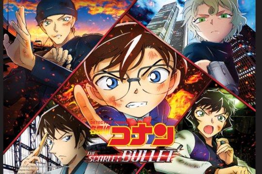"""""""Detective Conan:The Scarlet Bullet"""", panggung misteri di kereta cepat"""
