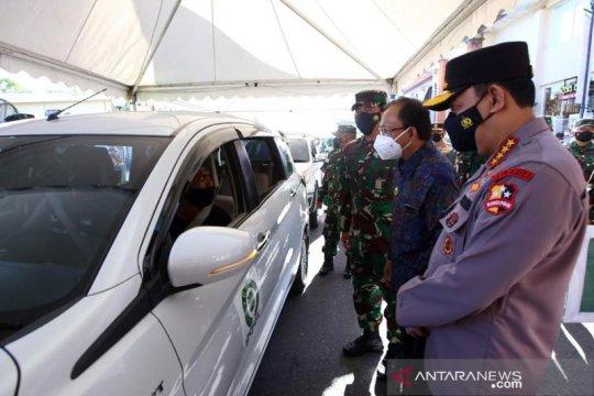 Kapolri sebut TNI-Polri dorong vaksinasi massal untuk pemulihan Bali