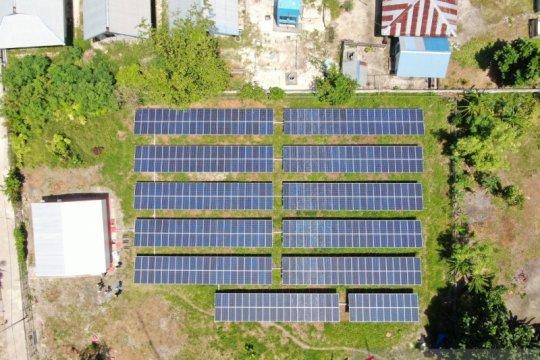 PLN pasok listrik tenaga surya di Raja Ampat Papua Barat