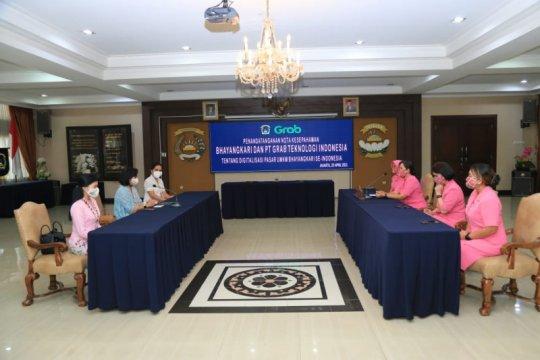 Bhayangkari gandeng Grab perkuat digitalisasi UMKM istri Polri