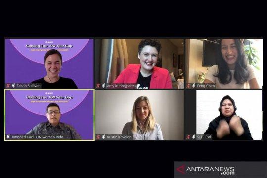Gojek libatkan pembicara perempuan di berbagai acara
