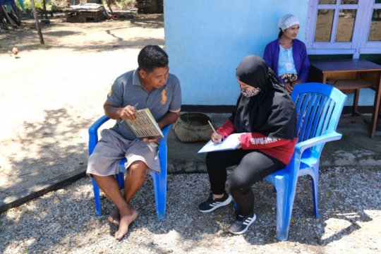 Pascabadai Seroja, KKP survei kondisi Taman Nasional Laut Sawu
