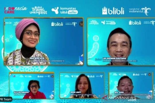 "Blibli luncurkan program ""Travel & UMKM Fest 2021"""