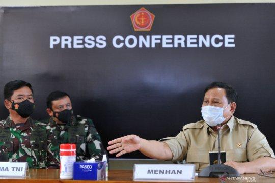Menhan Prabowo berikan beasiswa bagi anak awak KRI Nanggala-402