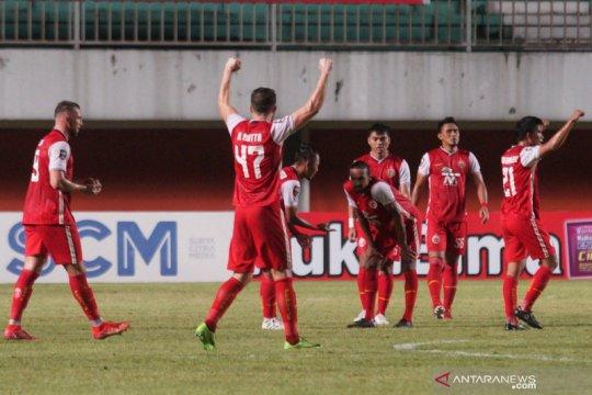Pelatih minta pemain Persija lupakan kemenangan leg pertama final