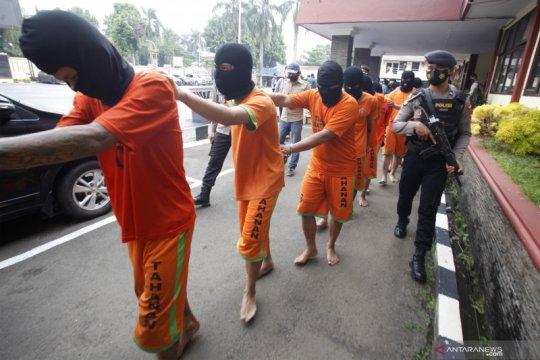 Rilis Operasi Pekat di Bogor