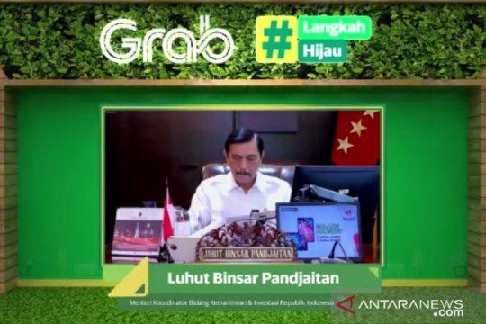 "Hari Bumi, Menko Luhut ajak dukung Indonesia capai ""zero emission"""