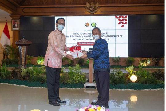 Kementerian ESDM tetapkan 20 situs geoheritage di Yogyakarta