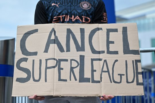 JPMorgan tak menyangka proposal Liga Super Eropa ditentang luas