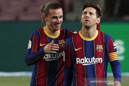 Griezmann ingin main di MLS setelah kontraknya habis di Barcelona
