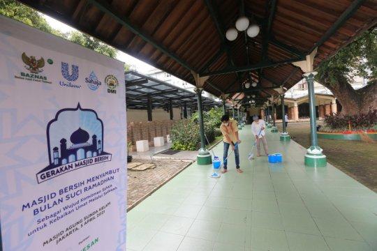 Gerakan Bersih Masjid jaga 30 ribu masjid tetap higienis saat Ramadhan