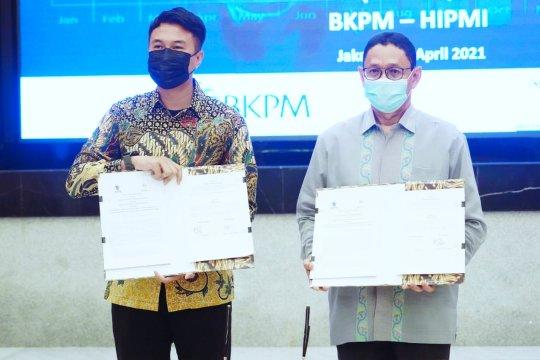 BKPM-Hipmi teken kerja sama fasilitasi UMKM naik kelas