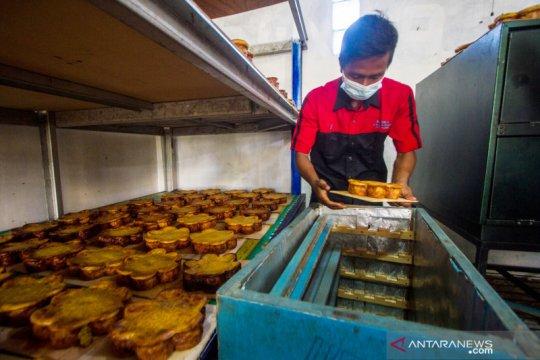 Kue Bingka, jajanan Ramadhan resep Putri Junjung Buih