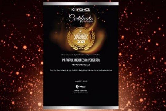 Pupuk Indonesia raih tiga penghargaan dalam TOP CSR 2021