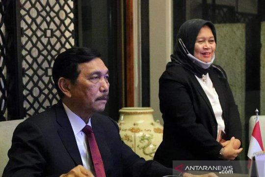 Luhut sampaikan komitmen Indonesia dukung penanganan perubahan iklim